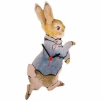 Children's Peter Rabbit Clock