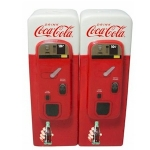 Coca Cola Vintage Vending Machine Salt and Pepper Pots