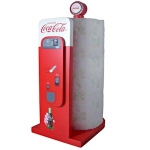 Coca Cola Vintage Vending Machine Paper Towel Holder