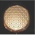 Compact Mirror Pink Diamond Pattern