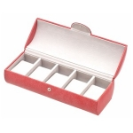 Coral Pink Five Watch Box