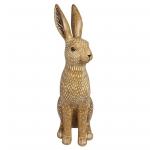 Country Large Brown Hare Ornament Figurine