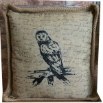 Country Owl Cushion