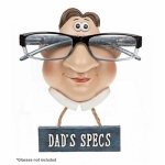 Dad Specs Novelty Wall Glasses Holder