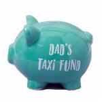 Dad's Taxi Fund Piggy Bank