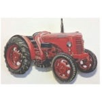 David Brown Red Tractor Small Key Rack