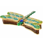 Dragonfly Trinket Box