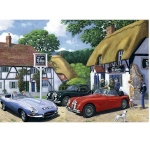 E Type Jaguar Metal Wall Sign 40 cm x 30 cm