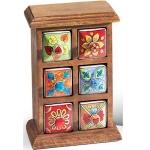 Fairtrade Mango Wood Six Box Storage Chest