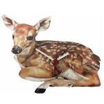 Fawn Deer Wall Clock