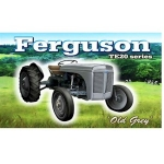 Ferguson Tractor Metal Wall Sign 40 cm x 30 cm