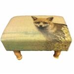 Fox Rectangular Footstool