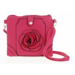 Fuschia Square Handbag