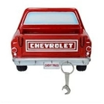 General Motors Chevy Pickup Truck Key and Letter Holder