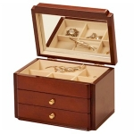 High Gloss Walnut Kylie Jewellery Box