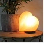 Heart Shaped Himalayan Rock Salt Table Lamp