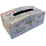 Home Sweet Home Wooden Tissue Box