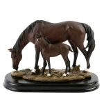 Horse and Foal Ornament