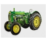 John Deere Tractor Wooden Wall Plaque
