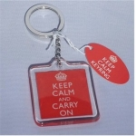 Keep Calm and Carry On Keyring