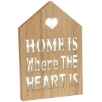 LED Shabby Chic Home Wooden Wall Plaque