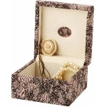 Lace Effect Lexie Jewellery Box
