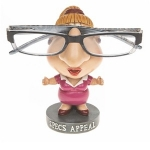 Ladies Specs Appeal Wobble Head Novelty Glasses Holder Stand