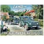 Land Rover Defender 110 Metal Wall Sign 40 cm x 30 cm