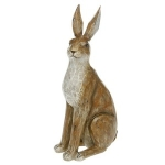 Large Brown Sitting Hare Ornament