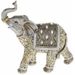 Large Diamond Elephant Ornament