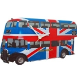 London Bus Clock