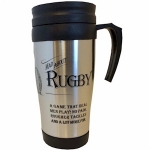 Mad About Rugby Travel Mug