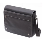 Manhattan Black Messenger Bag