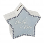 Money Box Blue Star Shape