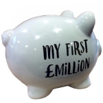 My First Million Piggy Bank