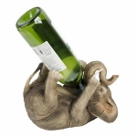 Naturecraft Elephant Wine Bottle Holder