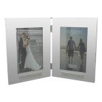 Our Wedding Anniversary Double Photo Frame