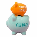 Parent's Treats Double Stacked Piggy Bank