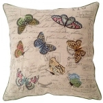 Pastel Butterfly Cushion