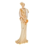 Peach Charleston Figurine Ornament