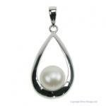 Pearl Raindrop Pendant