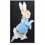 Peter Rabbit Wooden Jumbo Fridge Magnet