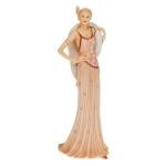 Pink Charleston Figurine Ornament