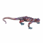 Purple Gheko Lizard Trinket Box
