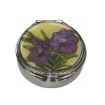Purple Orchid Pill Box