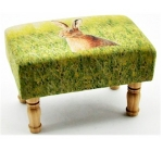 Rectangular Hare Footstool