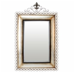 Rectangular Metal Wall Mirror