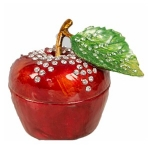 Red Apple Trinket Box