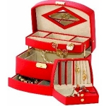 Red Consort Jewellery Box