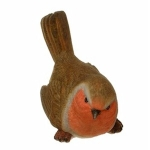 Robin Tail Up Ornament